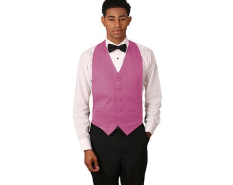 Unisex dusty rose backless vest
