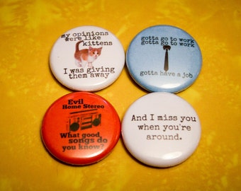 "Modest Mouse Multi Pack 2 - Set of 4 - 1"" Pinback Buttons"
