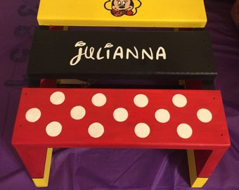 Personalized Children's Step Stool