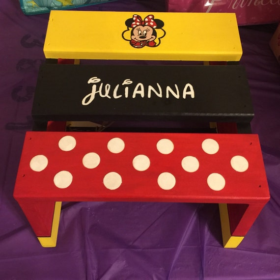 Personalized Children S Step Stool