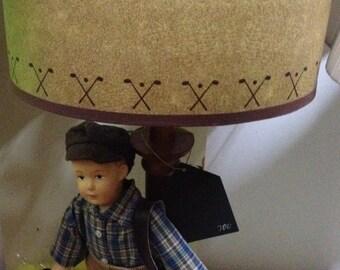 Little Golfer Lamp