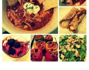 Get Your Fix Cookbook - Volume 1 (28 Recipes including 5 amazing desserts)