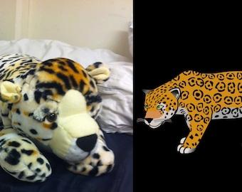 LIFE SIZE Cheetah stuffed animal