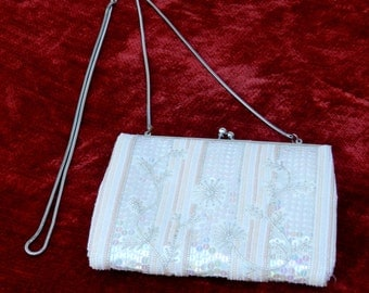 Valerie Stevens Beaded and Sequined Evening Purse            00276