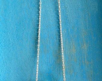 Crystal Aqua Pool Necklace