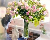 Bouquet of miniature roses, cold porcelain, wedding bouquet, bridal bouquet, bouquet roses, Artificial roses, bride roses, miniature roses