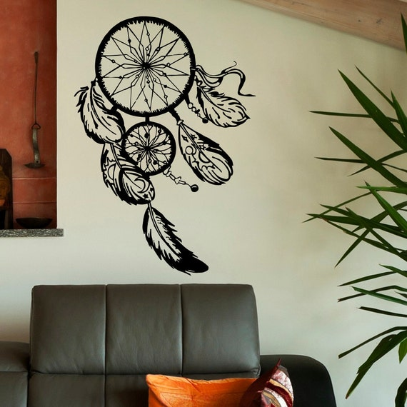Native Design Wall Decals : Dream catcher wall decal dreamcatcher by fabwalldecals