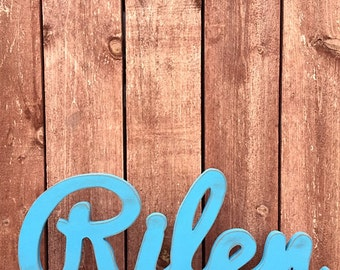 Baby Name Large - Custom Wooden Name, Nursery baby name sign, Wooden letters