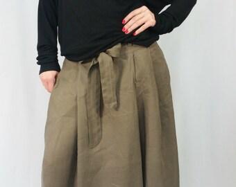 Black Loose Tunic Top / Oversize Casual Blouse / Loose Summer Shirt / long Sleeve Top / EXPRESS SHIPPING / LA 1002