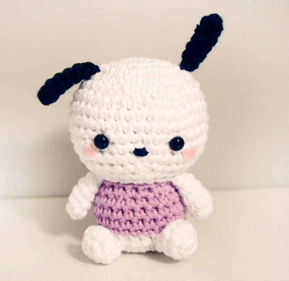 Amigurumi Klesik Doll : Pochacco Amigurumi Doll