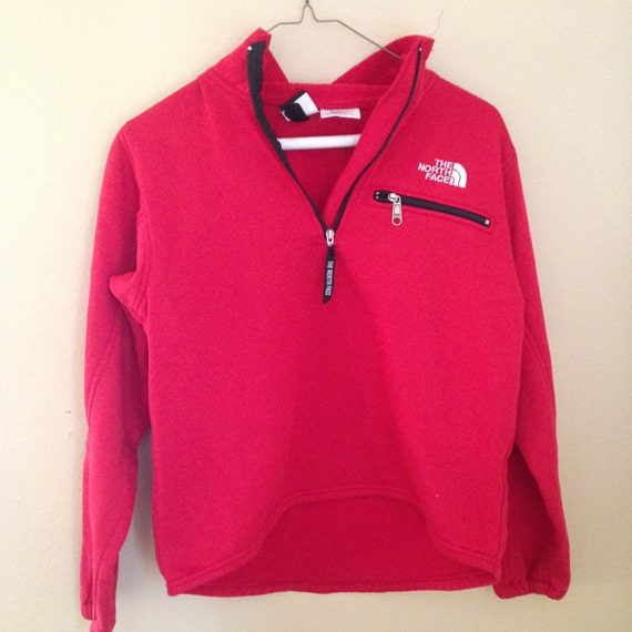 The North Face Vintage Bright Red Zip Up Jacket By Mygoodies91