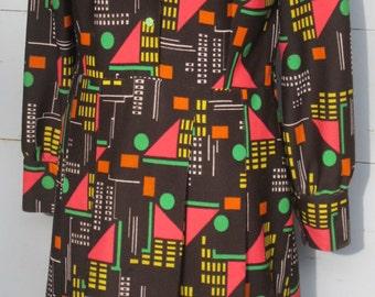 1970s Geometric colourful Madness