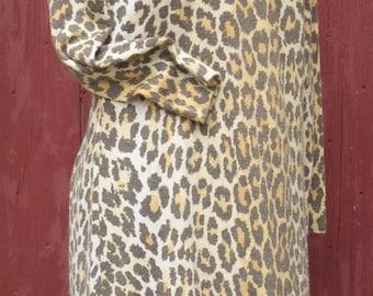 Growl Leopard Vintage Dress