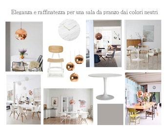 Interior Design Service/custom design/E-Design/Concept board/package MINI