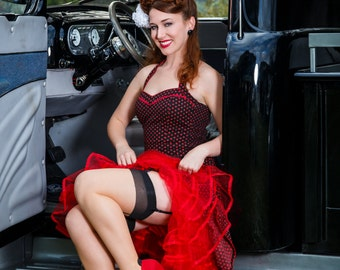 Hotrod Pinup Picture of Millie Michelle