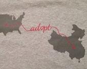 """JiaJia """"Adopt"""" T-Shirts"""
