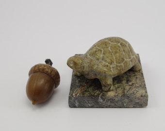 Soapstone Tortoise Sculpture