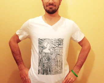 Asher Screen Printed T-Shirt