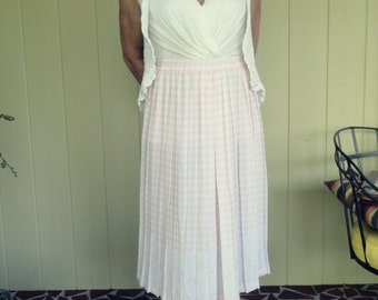 2FOR20 Vintage 1980s Andrea Gayle Pink Skirt