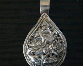 One of a Kind SILVER PENDANT