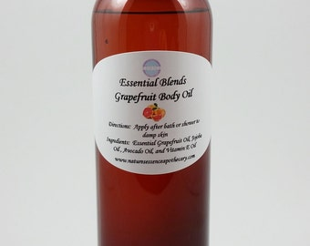 Grapefruit Body Oil