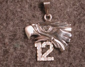 Seahawks 12th Man Pendant