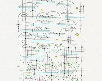 Original Drawing 199
