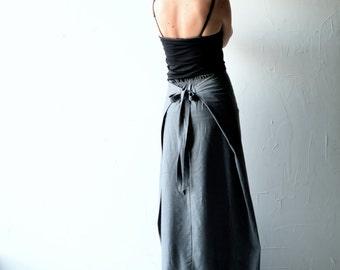 Wool skirt, Wrap skirt, Maxi Skirt, Long skirt, Pencil skirt, Grey skirt, Aline skirt, Boho skirt, Winter skirt, Maternity clothes, women