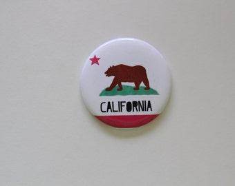 California State Flag Themed Magnet