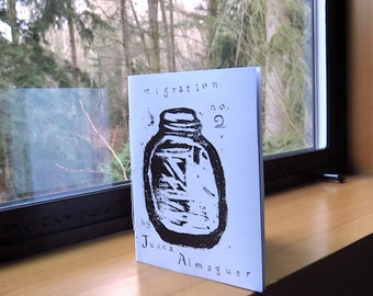 migration, no. 2, art zine, perzine