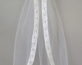 Mantilla Style First Communion Veil