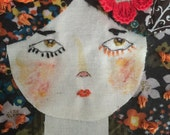 Desiree. Original Embroidery Art