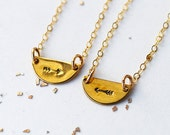 My other half best friend necklace set