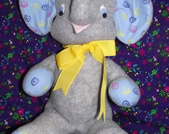 Elephant Price Reduced! TOY stuffed animal to Play With! Misfit Elephant Toy