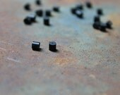 Incidentals: Rubber Earring Backs, pack of 20, black earring backs, black rubber stoppers