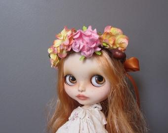 Blythe Flower Hair Wreath