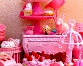 Pink Re-Ment Parade ATC/ACEO Print