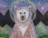 Bear Icon - Print 5 X 7