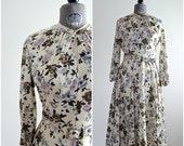 Floral Dress • 70s Floral Dress • Floral Print Dress • 70s Dress • Vintage Day Dress • 1970s Dress • Day Dress • Spring Dress • Casual Dress