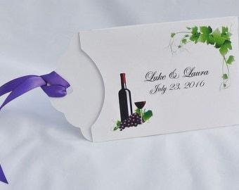 Wedding Wine Favors - Wine Party Favors - Wedding Favors - Vineyard Wedding Favors - Wine Wedding Favors - Vineyard Wedding - Winery Wedding