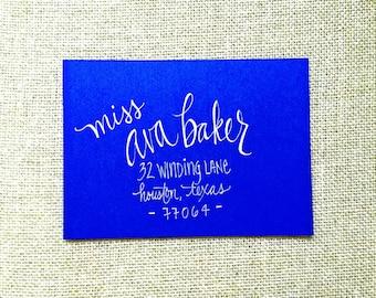 Modern Calligraphy | Custom Envelope Addressing