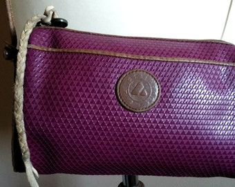 Deep Purple Liz Claiborne Crossbody Bag