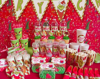 "Shop ""Grinch"" in Paper & Party Supplies"