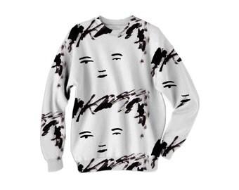 Face Me Face Sweatshirt