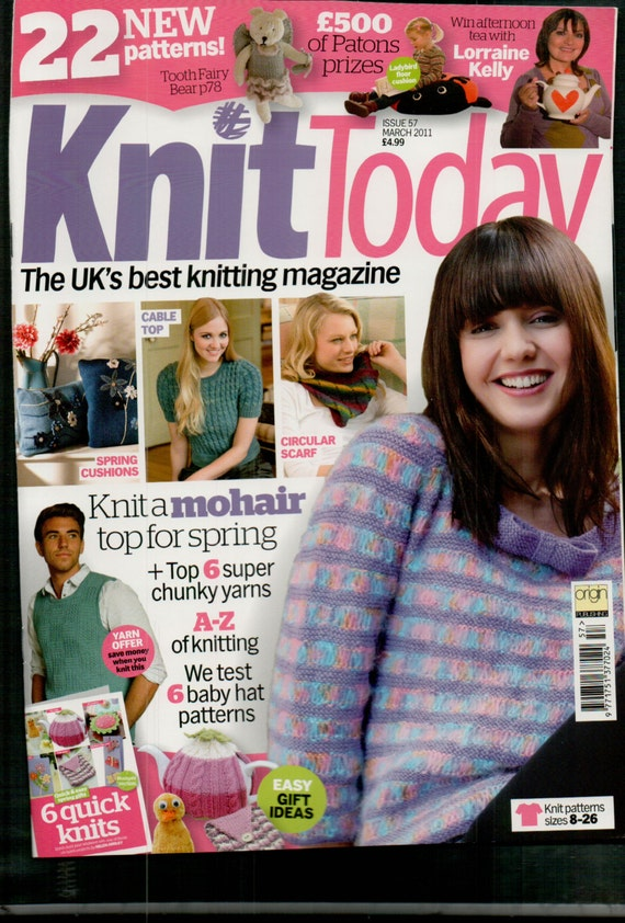 Knit Today Knitting Magazine Issue 57 March 2011