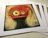 Catherine DeBoopBop - 8x8 limited edition archival print
