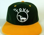 The Town cap, Oakland snapback hat