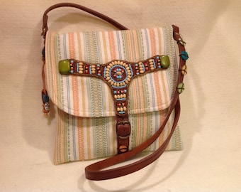Small Southwestern Casual Shoulder Purse
