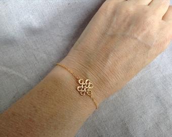 Celtic Knot Bracelet, Silver celtic knot bracelet, Gold Celtic Knot Bracelet, Celtic Knot Jewelry