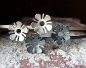 forget-me-not cuff bracelet